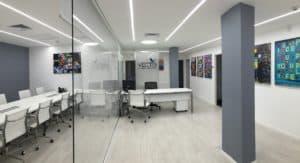 עיצוב גרפיטי למשרד